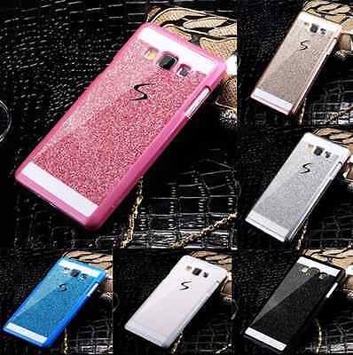 (Coque For Samsung Galaxy J Luxury Bling Glitter Hard Plastic Back Case Cover )
