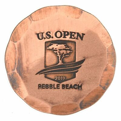 2019 US OPEN Hand Forged (Pebble Beach) Limited Edition COPPER Golf Ball Marker
