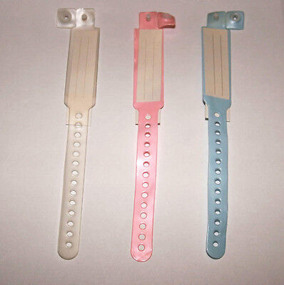 - REBORN/ BABY HOSPITAL ID BAND SELECT COLOUR 1 BAND ONLY OF COLOUR CHOICE