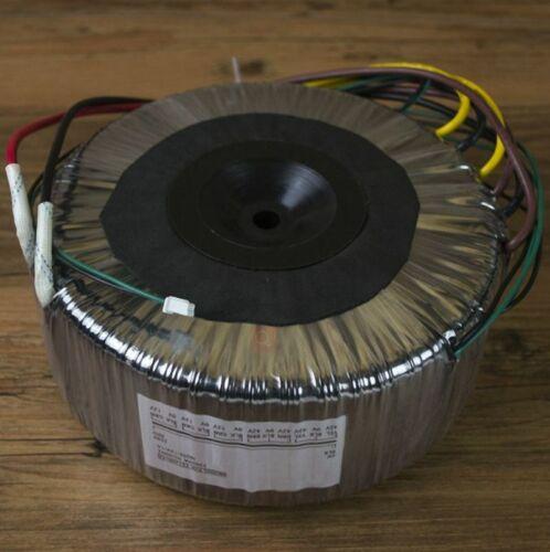 1200VA Toroidal transformer Output voltage: 2X 42V-0v-42V 2X 0v-12v 1A ,