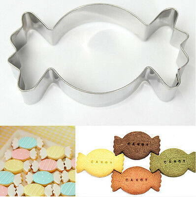 Stainless Steel Candy Shape Cookie Cutter Biscuit ...