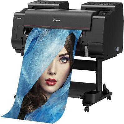 Canon Pro-2000 24 12-color Graphics Wide Format Printer 69mo W 0 300 Back