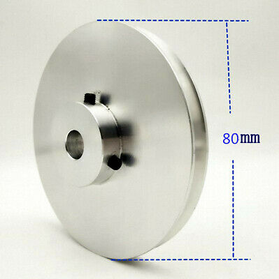 80mm Outer Diameter 5 To 25mm Bore V-groove Step Pulley - Select Size Mms