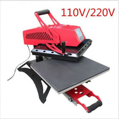 16 X 24 Swing Away Manual T-shirt Heat Press Machine High Quality Pull Out