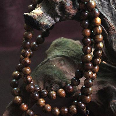 fragrant black rosewood108 8mm buddhist prayer bead