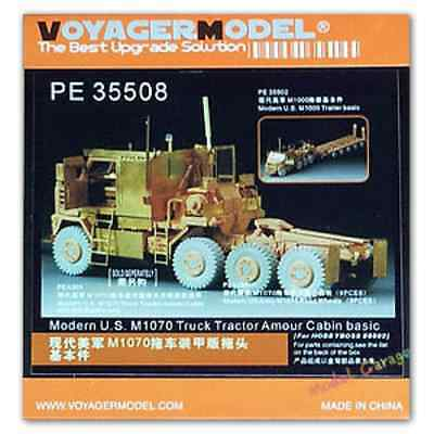 1/35 Voyager PE35508 US M1070 Truck Tractor Amour Cabin Detail set  for sale  Shipping to Canada