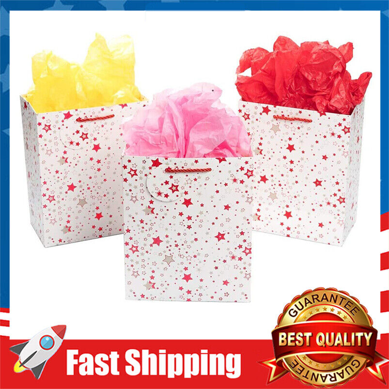 Gift Bags with Tissue Paper Cord Handles Middle Gift Bags fo