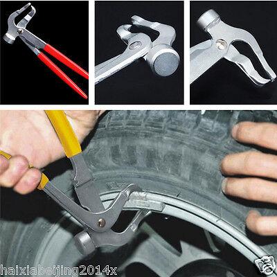 Car Auto Wheel Weight Plier Hammer Clip On Weight Remover Tire Balancer Changer