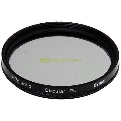 52mm. Filtro Polarizzatore circolare Polaroid Lente polarizzata Polarizer filter