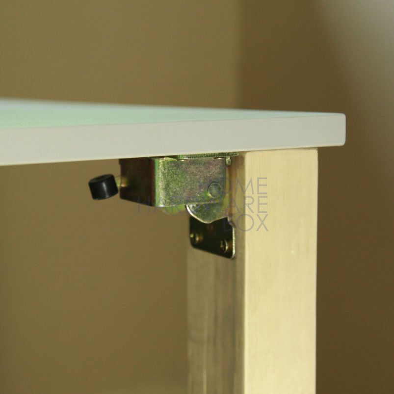 folding leg bracket folding legs self lock foldable table 2 pieces ebay. Black Bedroom Furniture Sets. Home Design Ideas
