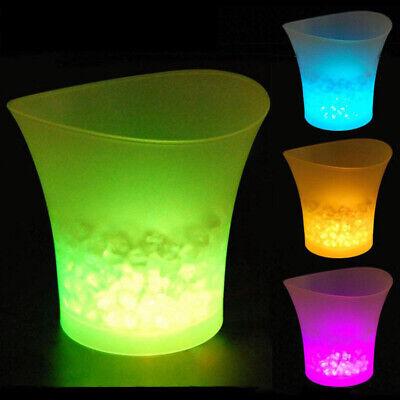 SMAD 5L LED ICE Eiseimer Farbwechsel Champagner Leuchten Glühendes Party Bar