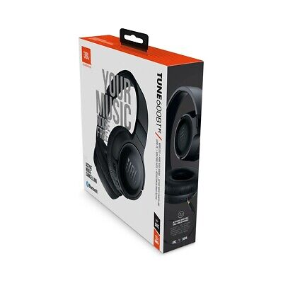 JBL Tune 600BT NC Over-Ear Wireless Bluetooth Noise Cancelling Headphones Black
