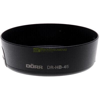 Paraluce compatibile Dorr Tipo HB-45 per obiettivo Nikon 18-55 VR. Non originale