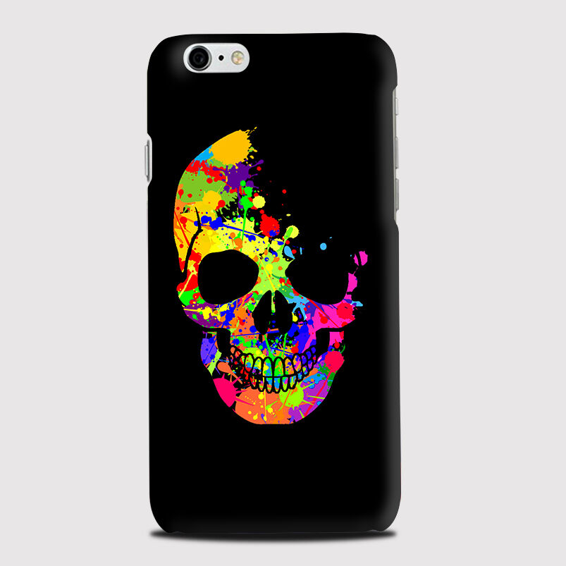 purchase cheap c2b4c 053da Details about Colourful Sugar Skull Candy Day Dead Pirates Pattern Phone  Case Cover