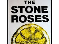 2x SEATING stone roses tickets £100 for both or £60 for one
