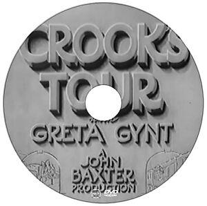 Crooks Tour - Comedy Mystery - Basil Radford, Naunton Wayne, Greta Gynt - 1941