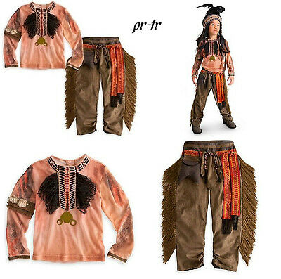 NWT The Lone Ranger Boys Tonto Pants and Shirt Costume 2/3