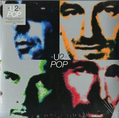 U2 POP (REMASTERED) DOUBLE VINYL LP 180 GRAMS NEW SEALED for sale  Shipping to Ireland