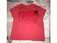 Red Coca Cola t-shirt