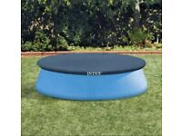 NEVER USED - Bestway Fast Set Pool - 8ft + Solar cover + Blue Cover