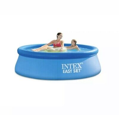 Intex 8ft x 30in Above Ground Swimming Pool w/ Cartridge Filter Pump NEW IN BOX