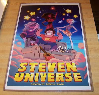 Steven Universe 11X17 Cartoon Network Poster