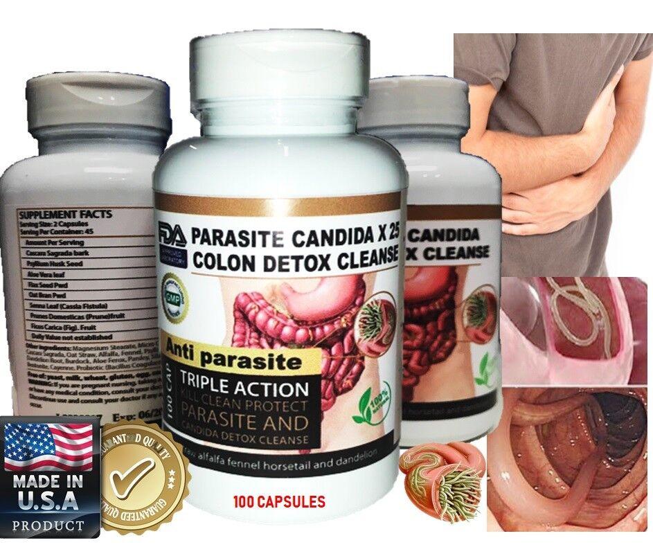 PARASITE DETOX Complete BODY CLEANSE Complex BROAD Spectrum Anti- PARASITE  2