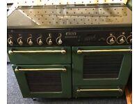 Range dual fuel cooker can deliver