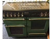 Range duel fuel cooker can deliver most areas