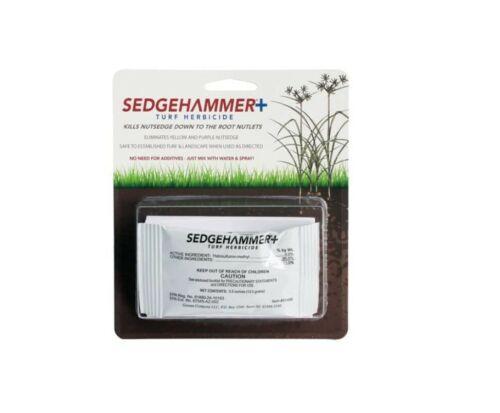 NEW SedgeHammer + Plus TURF Lawn HERBICIDE Nutsedge & Weeds 1 Pack