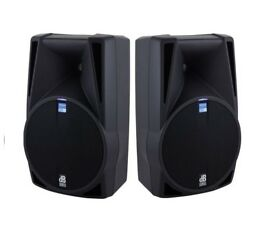 LAST PAIR!! 2 x dB Technologies Opera 510DX 10inch 200W RMS 400W Prog Active Speaker Stage Monitor