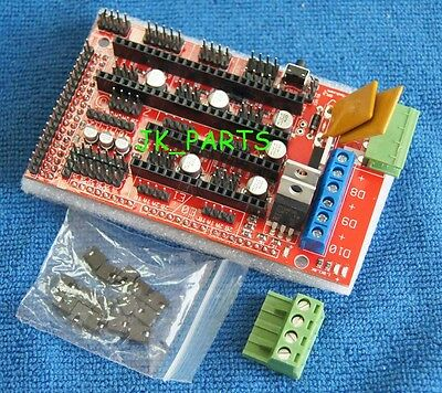 New 3d Printer Controller Shield Board For Ramps 1.4 Reprap Prusa Mendel