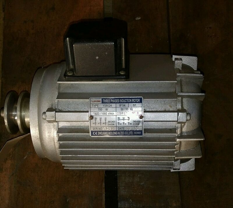 Drycleaning spin motor YS8024 Sailstar 60