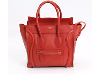 Celine small watermelon red bag