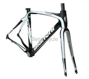 Bianchi Infinito 50 cm Road Frameset 2011 New in Box Headset Black Small Carbon