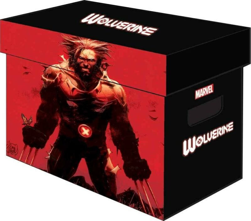 MARVEL WOLVERINE GRAPHIC SHORT STORAGE BOX SOLD OUT X-MEN