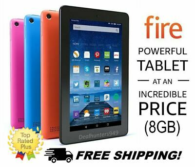 Amazon Fire 7 HD Tablet Kindle with Alexa 7