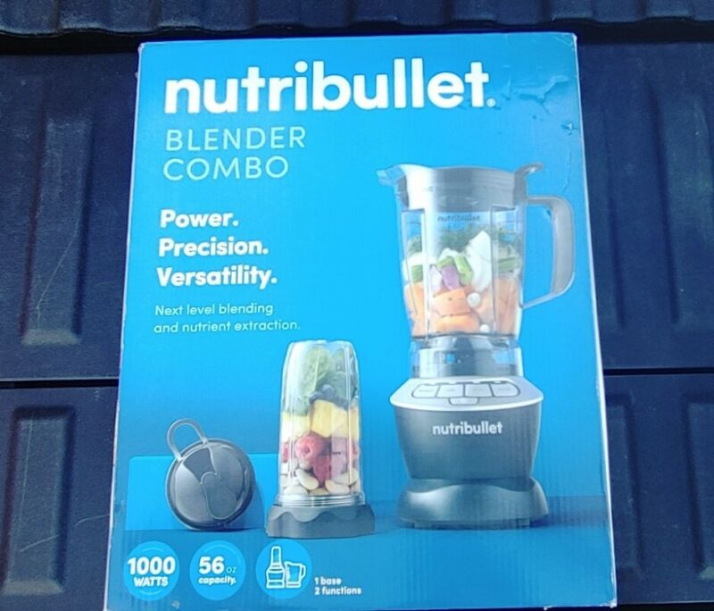 NutriBullet Blender Combo with 56 OZ Pitcher & Single Serve To-Go Cup - 1000W