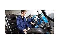 Tyre Fitter and Apprentice Mechanic