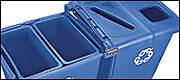 commercial recycling bins - recycle