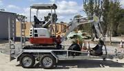 Mini Excavator Hire  - Tow Away TODAY! Wandi Kwinana Area Preview