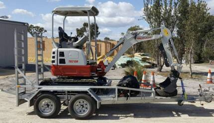 Mini Excavator Hire  - Tow Away TODAY!