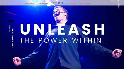 Tony Robbins Unleash the Power Within Sydney UPW rrp $1695