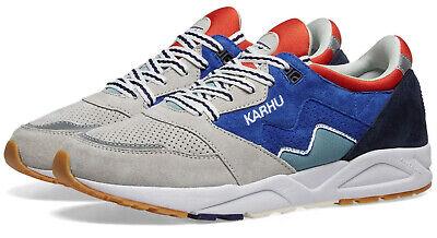 Karhu Men's Aria Suede Sneaker Daphne/ Lunar Rock Size 9