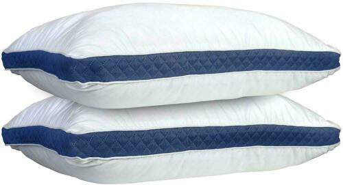 Luxury Bed Pillows Set of 2 for Side & Back Sleepers Down Alternative Pillow