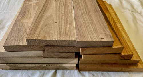"""Box Full of 16"""" Boards of Various Species (Walnut,Cherry,Maple, etc.)"""