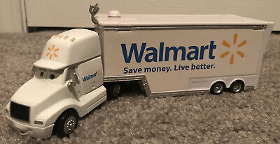 Wally Hauler Disney Pixar Cars 3 Walmart 18 Wheeler Semi Truck & Trailer