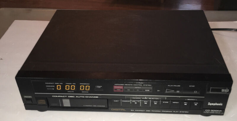 1989 Symphonic Compact Disk Player 3000 A