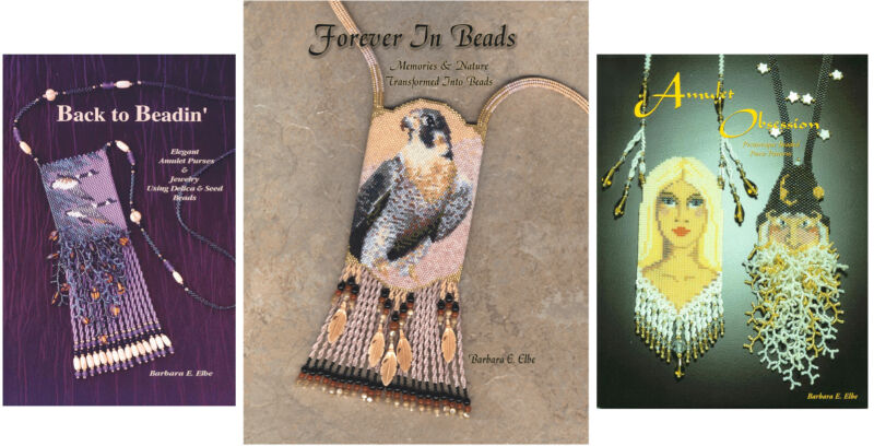 Beading Books Beadwork Bead Patterns Japanese Beads Amulet Purses - Barbara Elbe