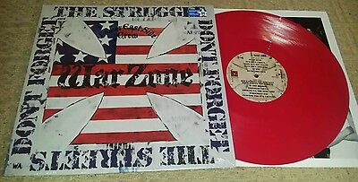 WARZONE - Don't Forget The Struggle Don't Forget The Streets LP RED (SEALED) SXE